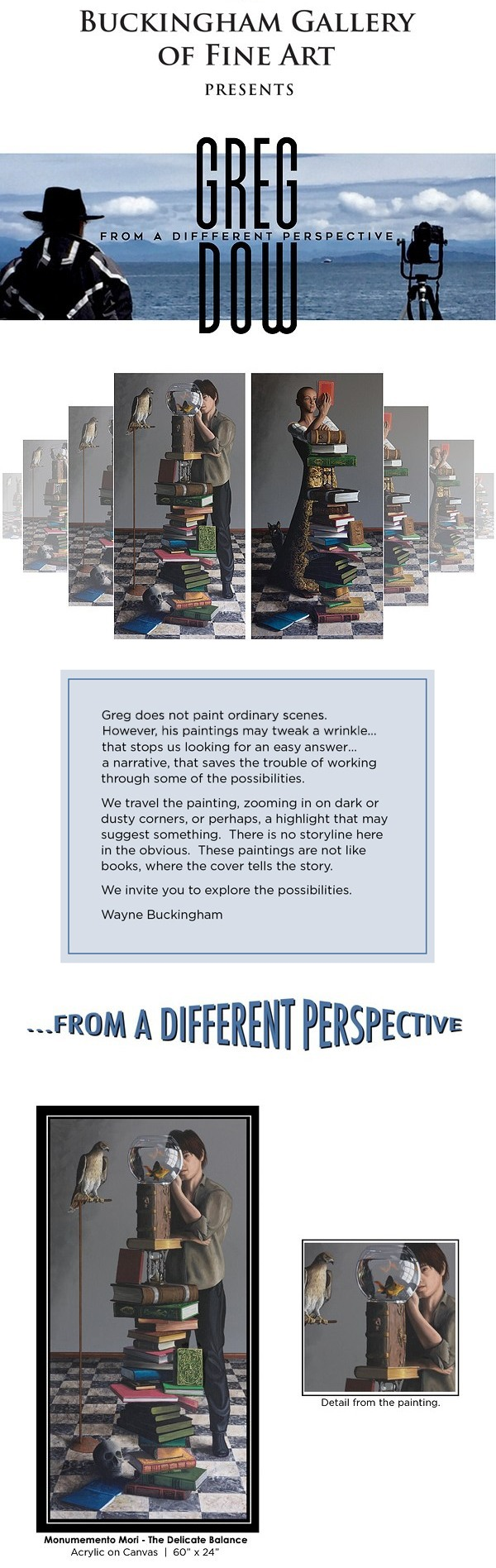 Greg Dow - From a Different Perspective