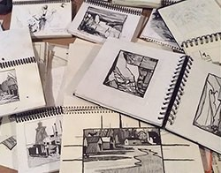 Tales From Don Cavin's Sketchbook