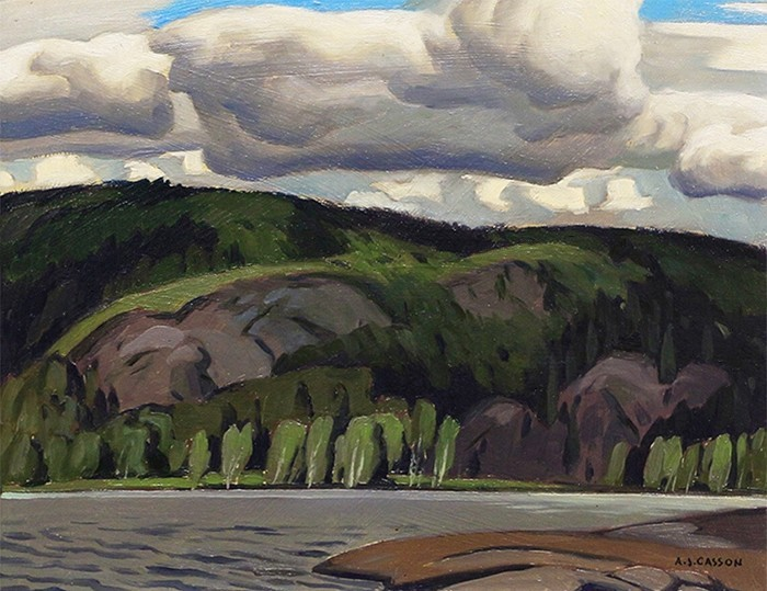 Lake of Two Rivers - A.J. Casson