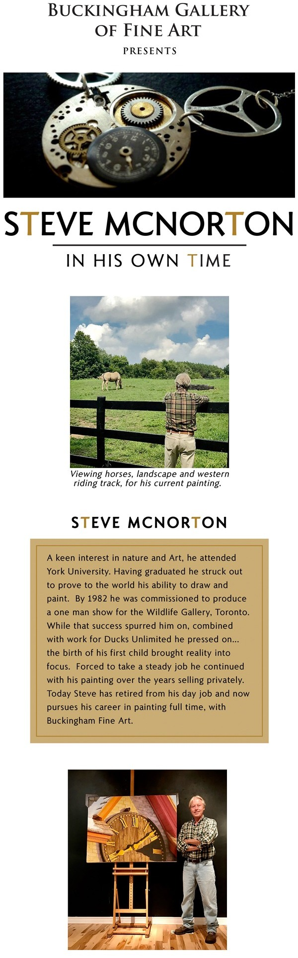 Steve McNorton - In His Own Time